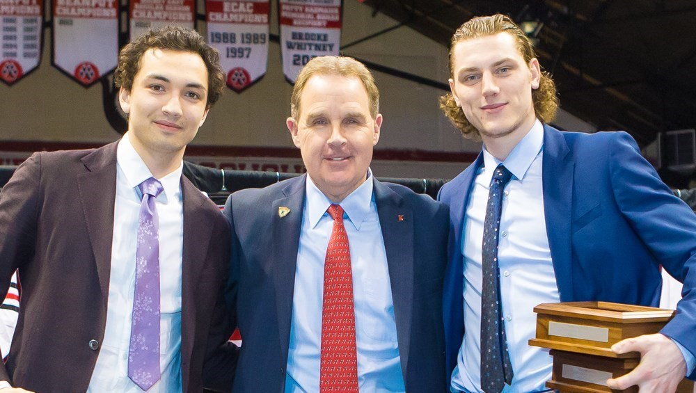 Hockey East: Northeastern Huskies - Men's Hockey Celebrates Banner Season At Year-end Banquet